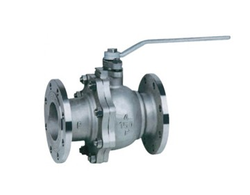 API flanged floating ball valve